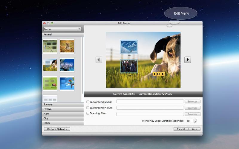 DVD Creator Lite Screenshot - 2