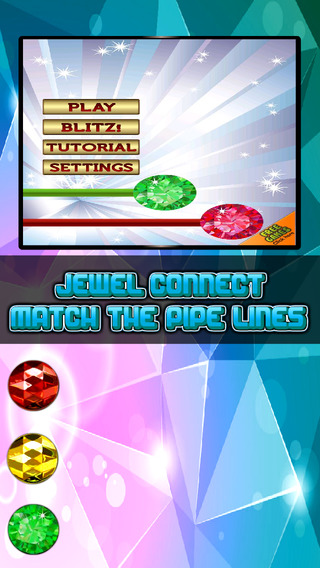 Jewel Connect: Match the Pipe Lines