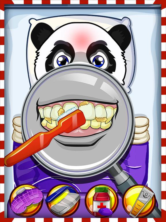 Crazy Pet Vet Hospital Doctor - Fun dentist hair, nose & eye care salon games for girlsscreeshot 2
