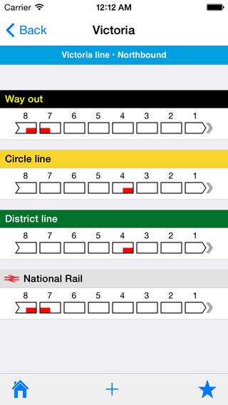 London Tube Changer iPhone Screenshot 1