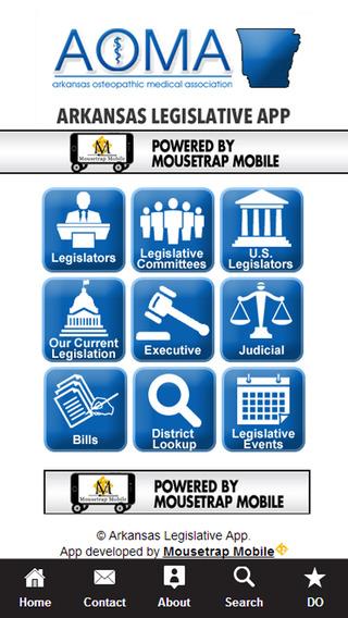 AOMA Arkansas Legislative App