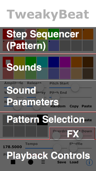 TweakyBeat iPhone Screenshot 2