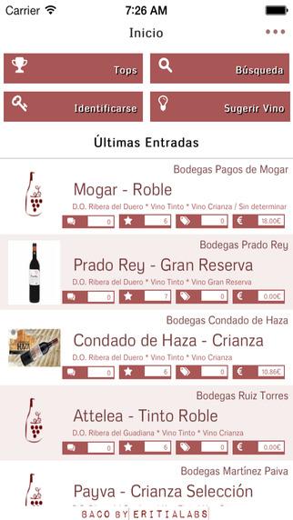 Baco - Community of Wine