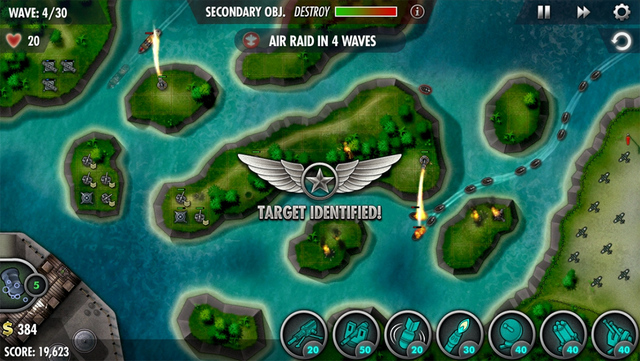 Free Sale: iBomber Defense Pacific - A tower defense campaign in the Pacific