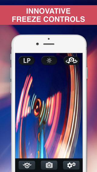 EyeLike Cam - Magic slow shutter camera and editor capturing long exposure light trail and blur moti
