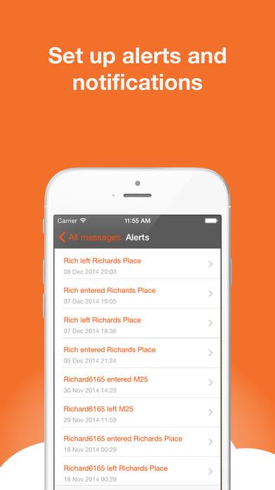 AutoAlert Tracker iPhone Screenshot 3