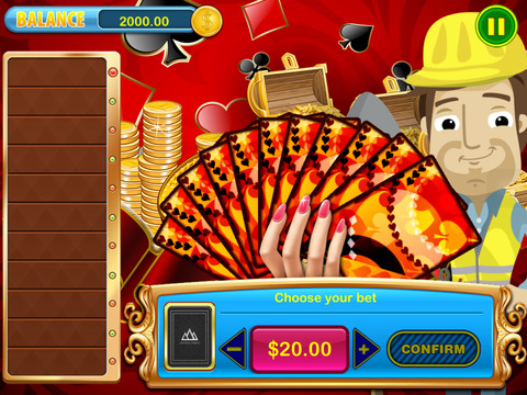 iPad Image of $$$ Hit it and Win Big Money High-Low Cash Casino Cards Games Pro