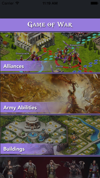 Game Cheats For Game of War Fire Age - ArmyAbilities Building Hero Units and Manny More