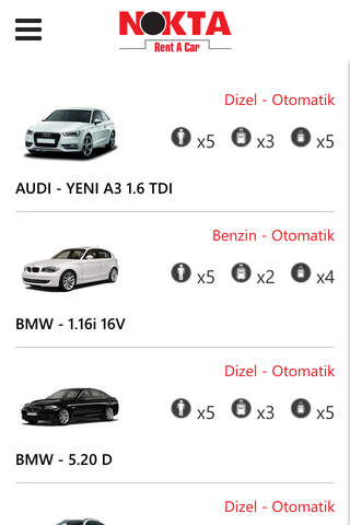 Nokta Rent A Car screenshot 4