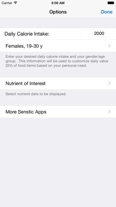 Food Advisor iPhone Screenshot 4