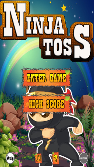Ninja Toss - Be The Hero From The Far East