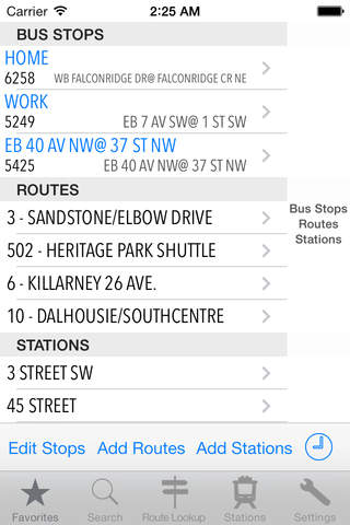 TransitAssist Calgary screenshot 1