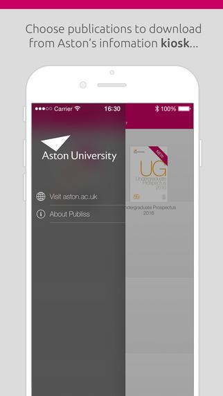 Aston University Information App