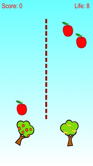 Apple and Banana Defense - Tree Shoot Fruit