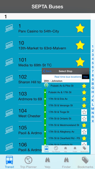 SEPTA Bus Real Time Pro - Public Transportation Directions and Trip Planner