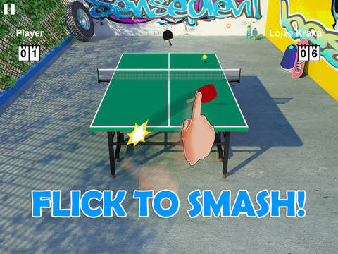 Screenshot #1 for Virtual Table Tennis HD
