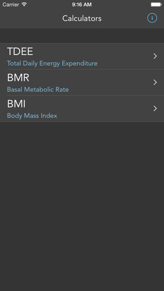 Swole Calc - TDEE BMR BMI Calculator