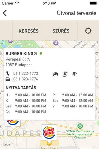 iphone BURGER KING Screenshot 3