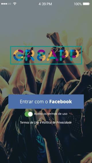 Gr8App sua rede social de noticias locais e compartilhamento de conteúdo.