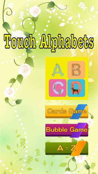 Touch Audio Alphabets