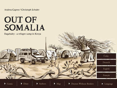 Out of Somalia Dagahaley - a refugee camp in Kenya