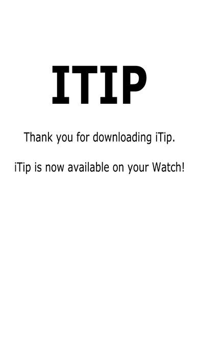 iTip iPhone Screenshot 1