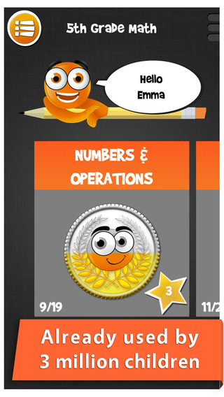 iTooch 5th Grade Math Maths worksheets on Numbers Operations Fractions Graphs Stats and Geometry [FU