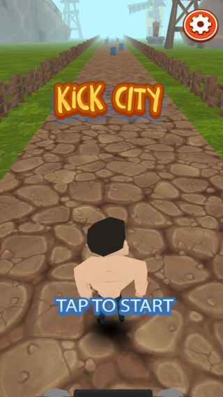 Kick Khan Temple City Run 3D