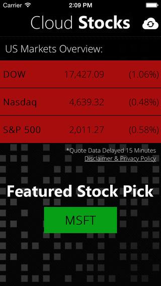 Cloud Stocks