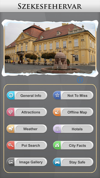 Szekesfehervar Offline Map City Guide