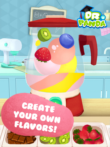 Image of Dr. Panda's Ice Cream Truck for iPad