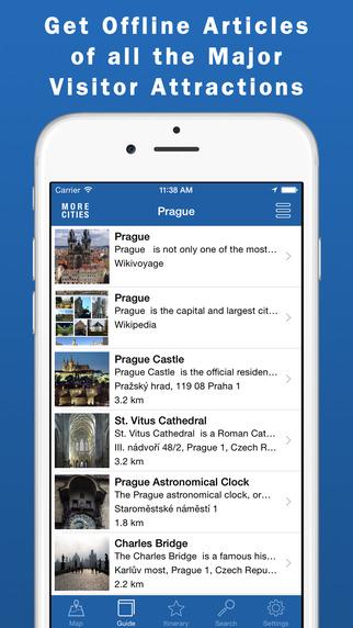 Prague Travel Guide Offline Map