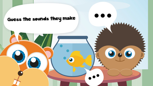 Play with Baby Pets - The 1st Sound Game for a toddler and a whippersnapper free a
