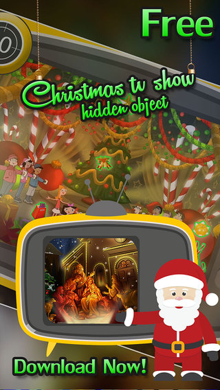 Christmas TV Show Hidden Object Game