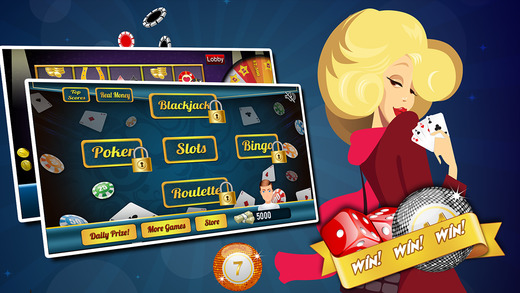 Super Poker Blitz with Bingo Mania Royal Slots and More