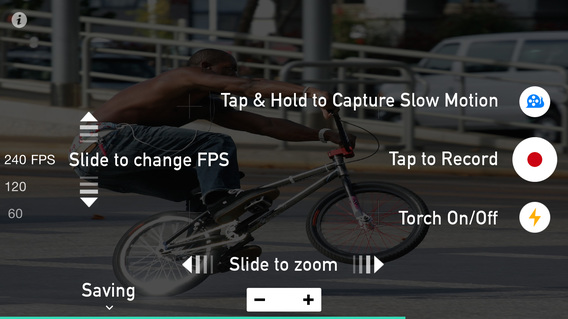 慢速相机:SlowCam – Realtime Slow Motion Video Camera