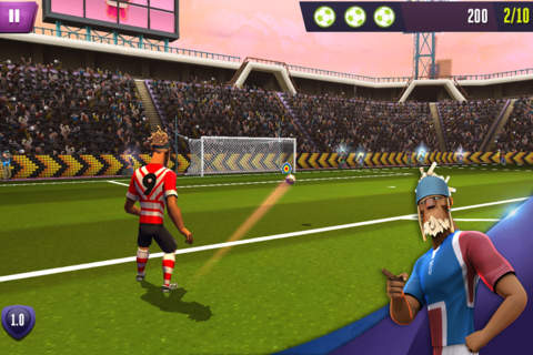 Penalties and Soccer– Player or Goalie? Kicks! Football Warriors screenshot 3