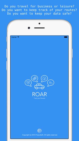 ROAR - Road Report