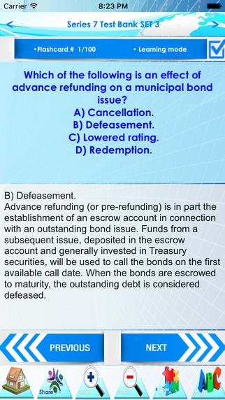 玩免費財經APP|下載Series 7 : Test Bank 2200 Quiz app不用錢|硬是要APP