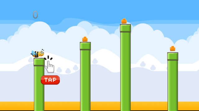 Bee Copter - Flying Jumping Adventure