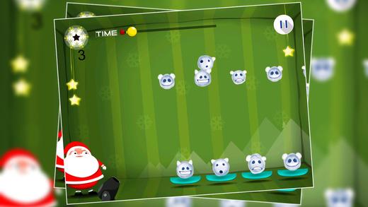 Santa and Snow Balls Men : The Christmas Winter Cold Tales - Gold