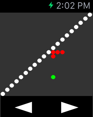 Snake for Watch - Experience Game Playing on your Apple Watch! Screenshots