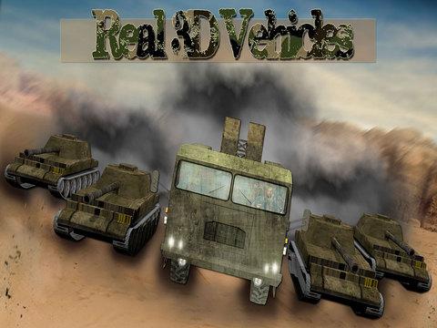 玩免費遊戲APP|下載Transporter Truck 3D Army Tank - Drive the trailer in the newest Heavy Duty 3D Animated Cargo Truck driving simulation game app不用錢|硬是要APP