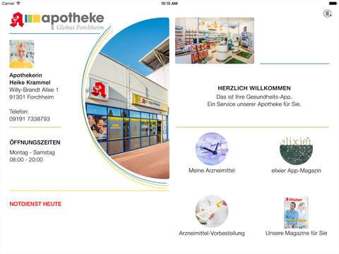 Apotheke im Globus Forchheim