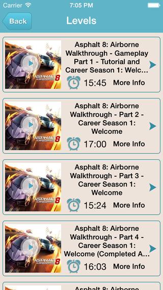 Guide for Asphalt 8 - Full Level Video Tips And Walkthrough Guide