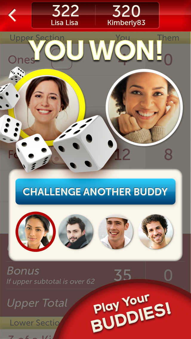 YAHTZEE® With Buddies  Screenshot