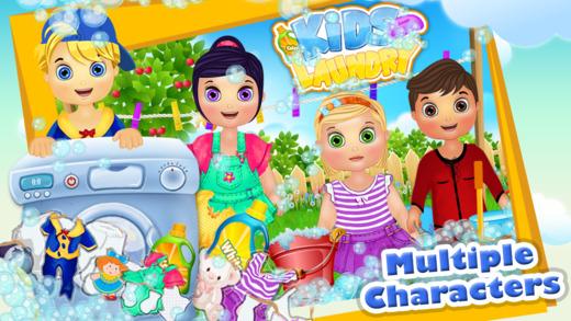 婴儿服装童装洗衣时间 - 洗涤及干洗妈妈的小帮手