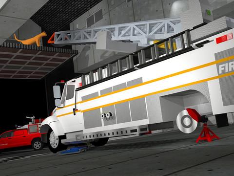 Fix My Truck: Red Fire Engine screenshot 3