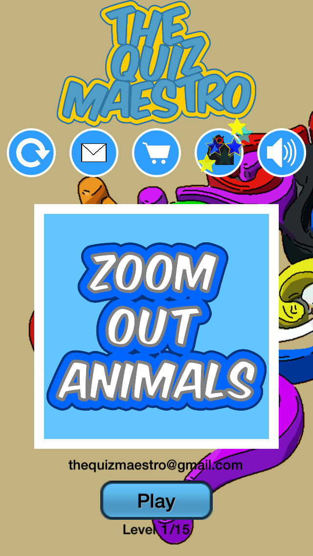 Zoom Out Animals Quiz Maestro - Close Up Pet Zoo Farm Word Trivia