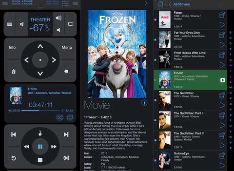 دانلود نرم افزار Roomie Remote برای آیفون،آیپد و آیپادتاچ - تصویر 1